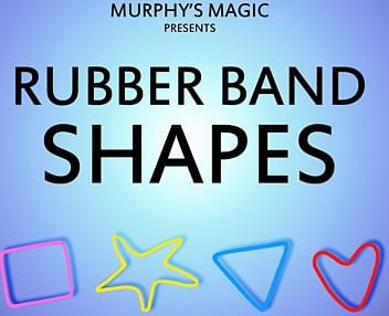 Rubber Band Shapes (Hearts) - magic