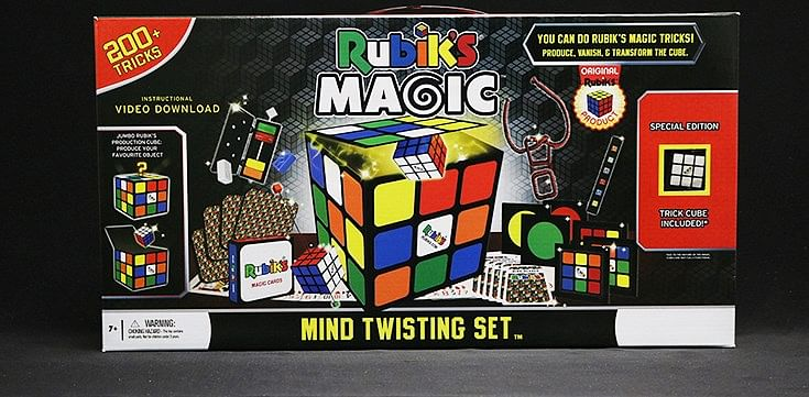 Rubik Mind Twisting Magic Set - magic