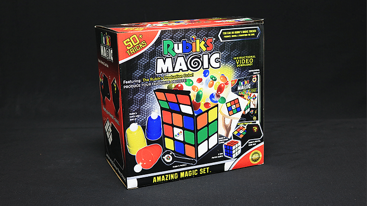 Rubik's Cube Amazing Magic Set - magic