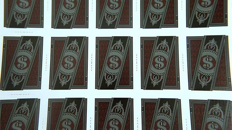 Run Playing Cards: Bankroll Edition (Uncut Sheet)