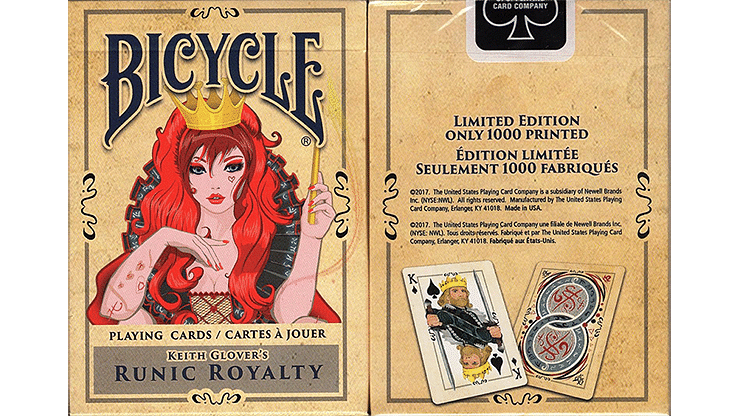 Bicycle Runic Royalty Playing Cards - magic