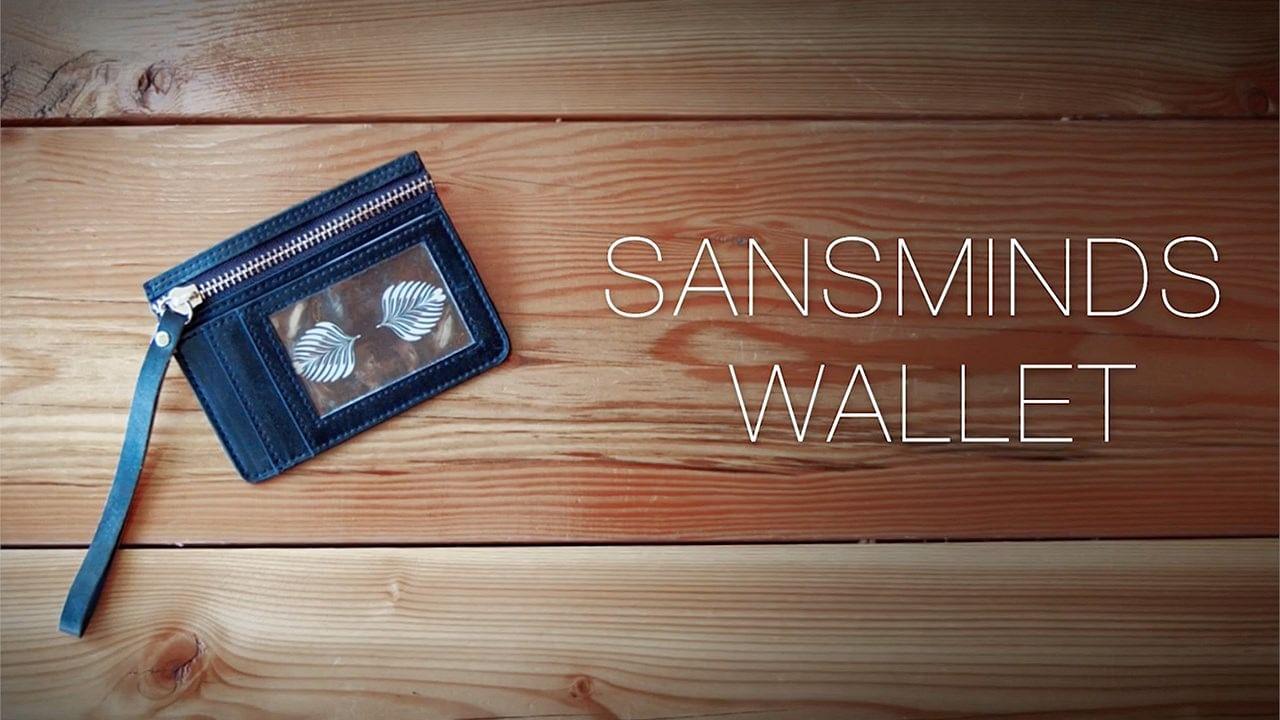SansMinds Wallet - Suit Up Style