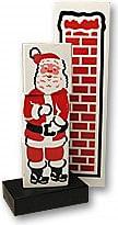 Santa Stuck in the Chimney - magic