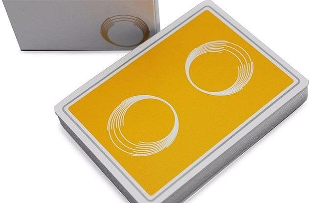Saturn: Honeycomb Playing Cards - magic