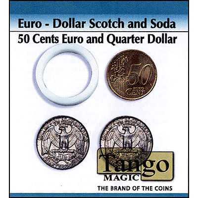 Scotch and Soda - 50 Euro Cents/Quarter Dollar - magic