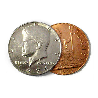 Scotch and Soda - English Penny (magnetic) - magic