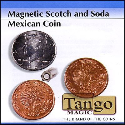 Scotch and Soda - Half Dollar/Mexican Coin (magnetic)
