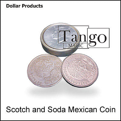 Scotch and Soda - Half Dollar/Mexican Coin - magic