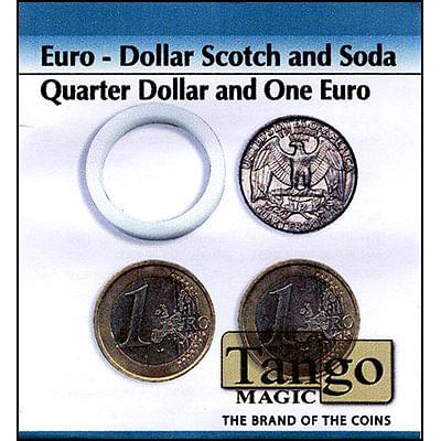 Scotch and Soda - Quarter Dollar/1 Euro - magic