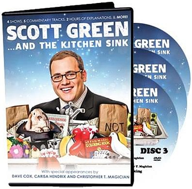 Scott Green... And The Kitchen Sink - magic