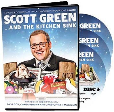 Scott Green... And The Kitchen Sink - magic