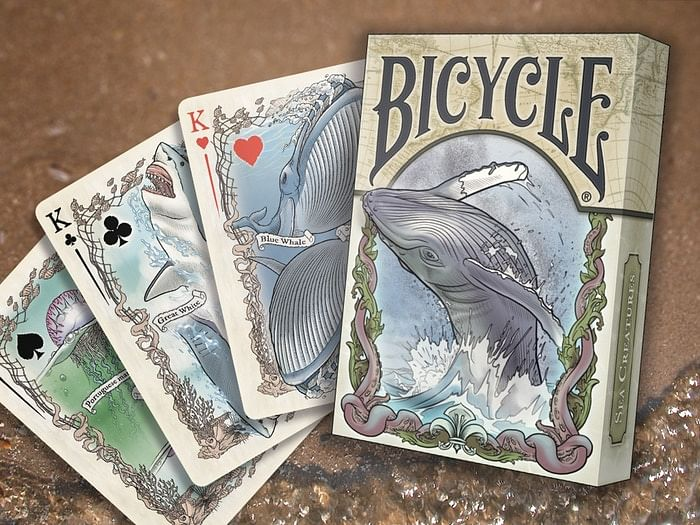 Sea Creatures Deck Playing Cards