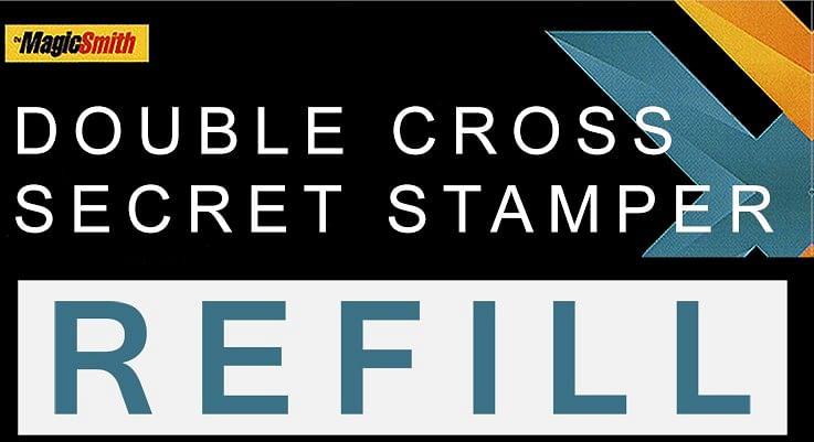 Secret Stamper Part (Refill) for Double Cross - magic