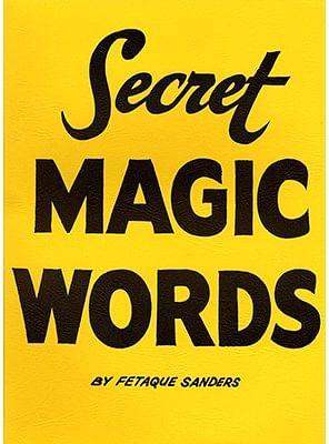 Secret Words - magic
