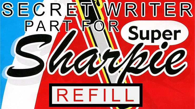 Secret Writer Part for Super Sharpie - magic