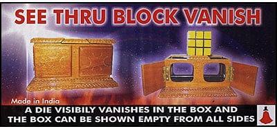 See Thru Block Vanish - magic