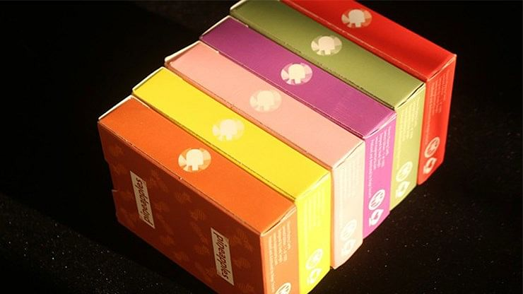 Flavors Playing Cards (6 Deck Collector's Set)