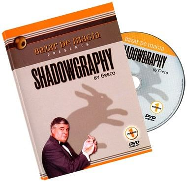 Shadowgraphy Volume 1 DVD - Carlos Greco - magic