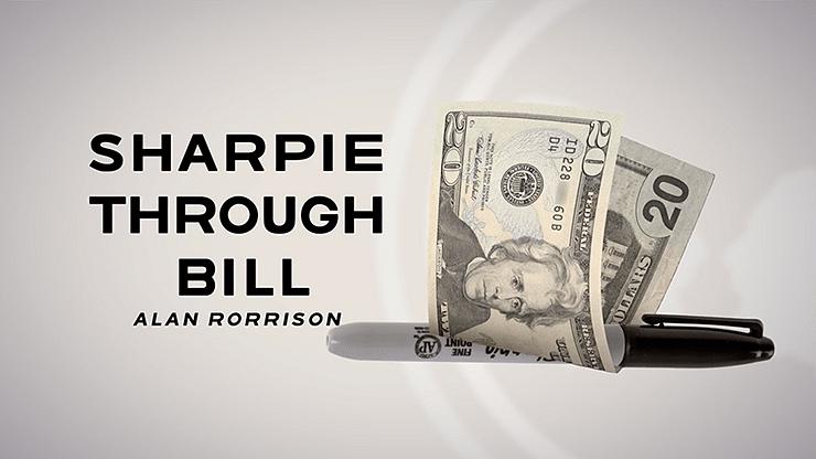 Sharpie Through Bill - magic