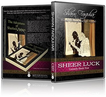 Sheer Luck - The Comedy Book Test - magic