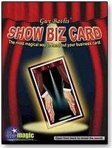 Show Biz Card - magic