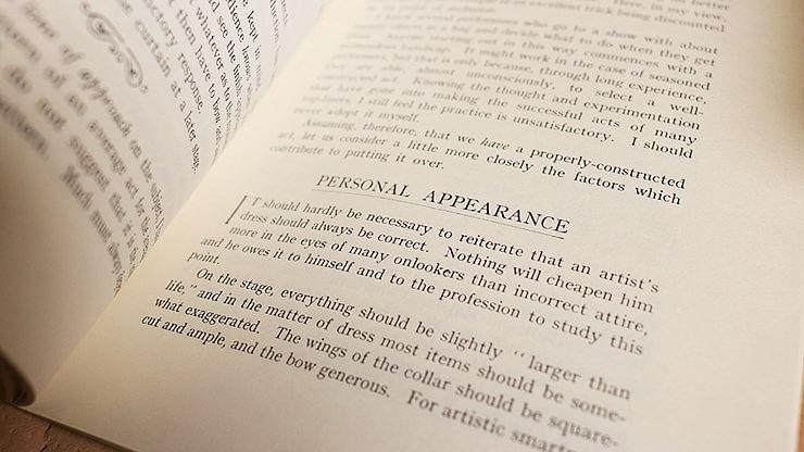Showmanship and Presentation