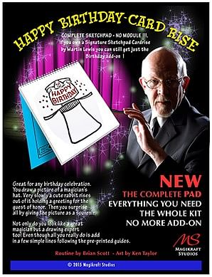 Signature Edition Happy Birthday Card Rise - magic