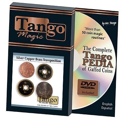Silver Copper Brass Transposition - magic