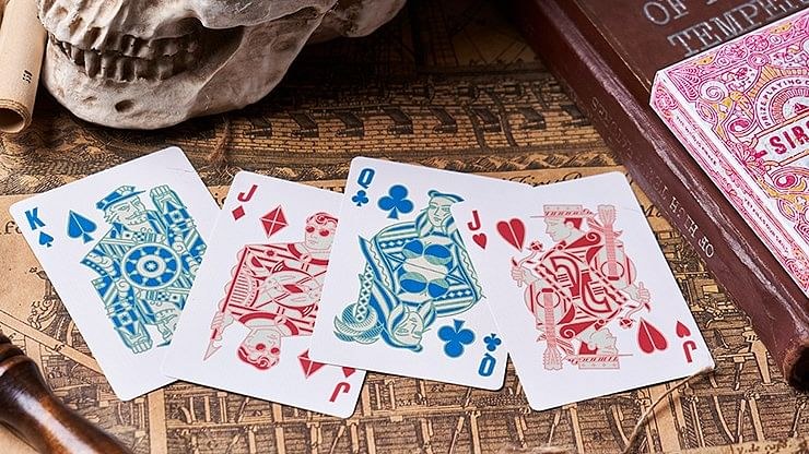 Sirocco Weathered Playing Cards