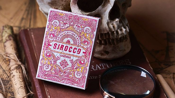 Sirocco Weathered Playing Cards - magic