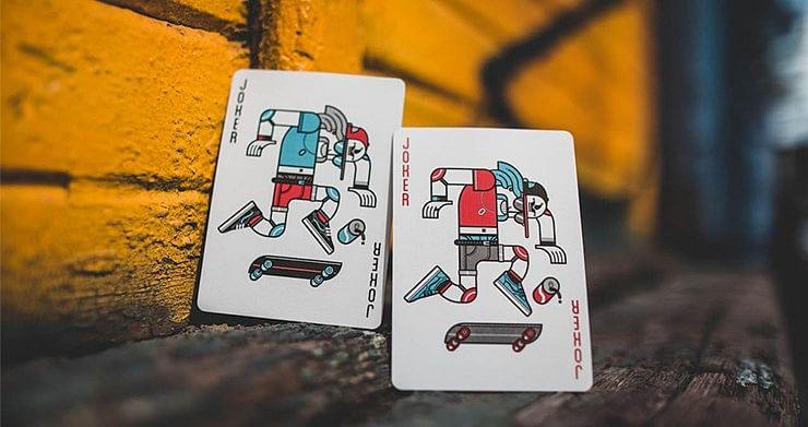 Skateboard V2 Playing Cards