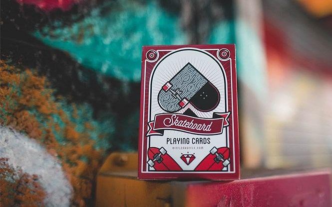 Skateboard V2 Playing Cards - magic