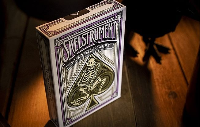Skelstrument Playing Cards - magic