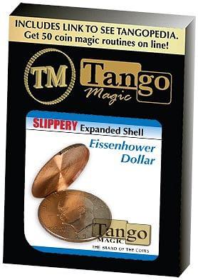 Slippery Expanded Shell Eisenhower Dollar - magic