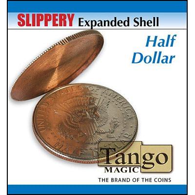 Slippery Expanded Shell - Half Dollar - magic