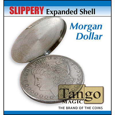 Slippery Expanded Shell - Morgan Silver Dollar - magic