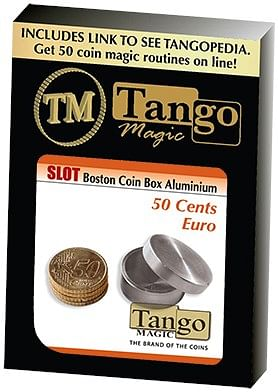 Slot Boston Box 50 cent Euro Aluminum - magic