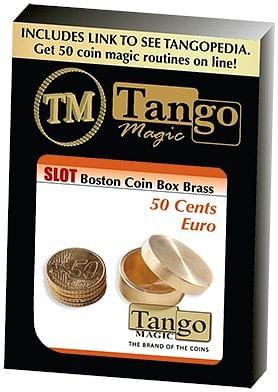 Slot Boston Box Brass 50 cent Euro - magic