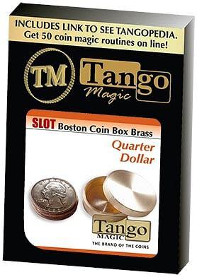 Slot Boston Box Brass Quarter - magic