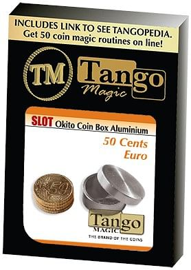 Slot Okito Box 50 cent Euro Aluminum - magic