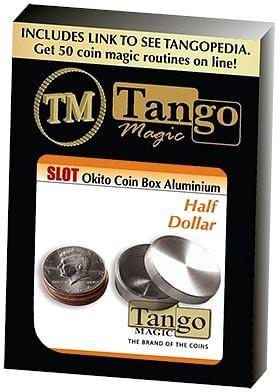 Slot Okito Box Half Dollar Aluminum - magic