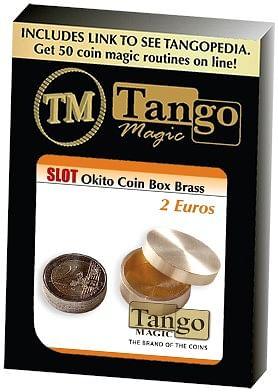Slot Okito Coin Box Brass 2 Euro - magic