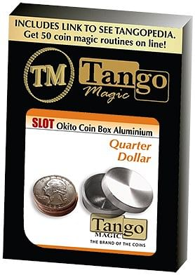 Slot Okito Coin Box Quarter Aluminum - magic