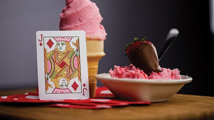 Snackers Playing Cards (Strawberry Flavor)