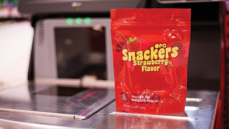 Snackers Playing Cards (Strawberry Flavor) - magic