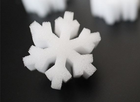 SNOWFLAKE SPONGES - magic