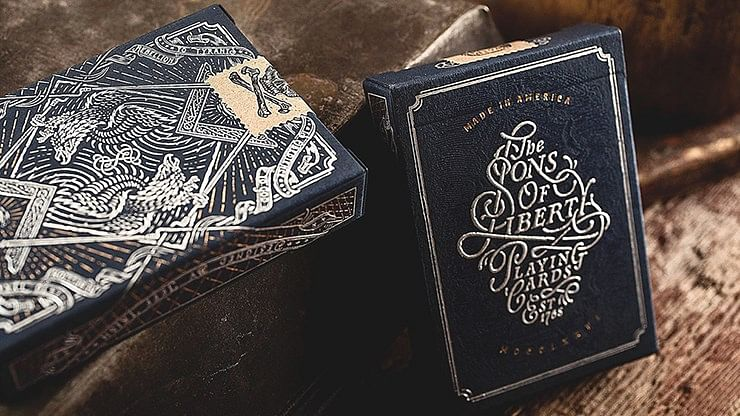 Sons Of Liberty Playing Cards - magic