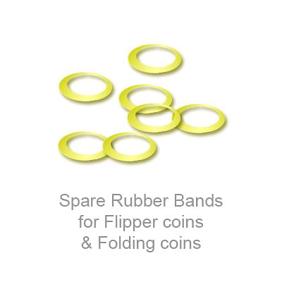 Rubber Bands for Flipper & Folding Coins - magic