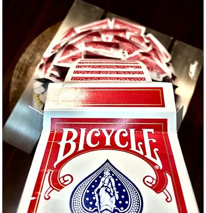 Special Edition Cascading Cards Bicycle Rider Back