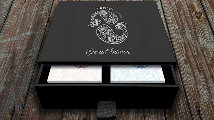Special Edition Diamon Playing Cards Paisley Box Set - magic